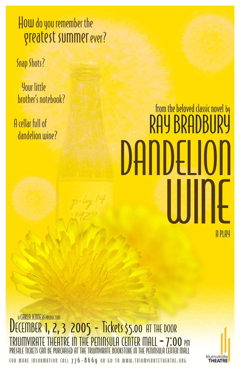Homer Dandilion Wine I Never Cared For You